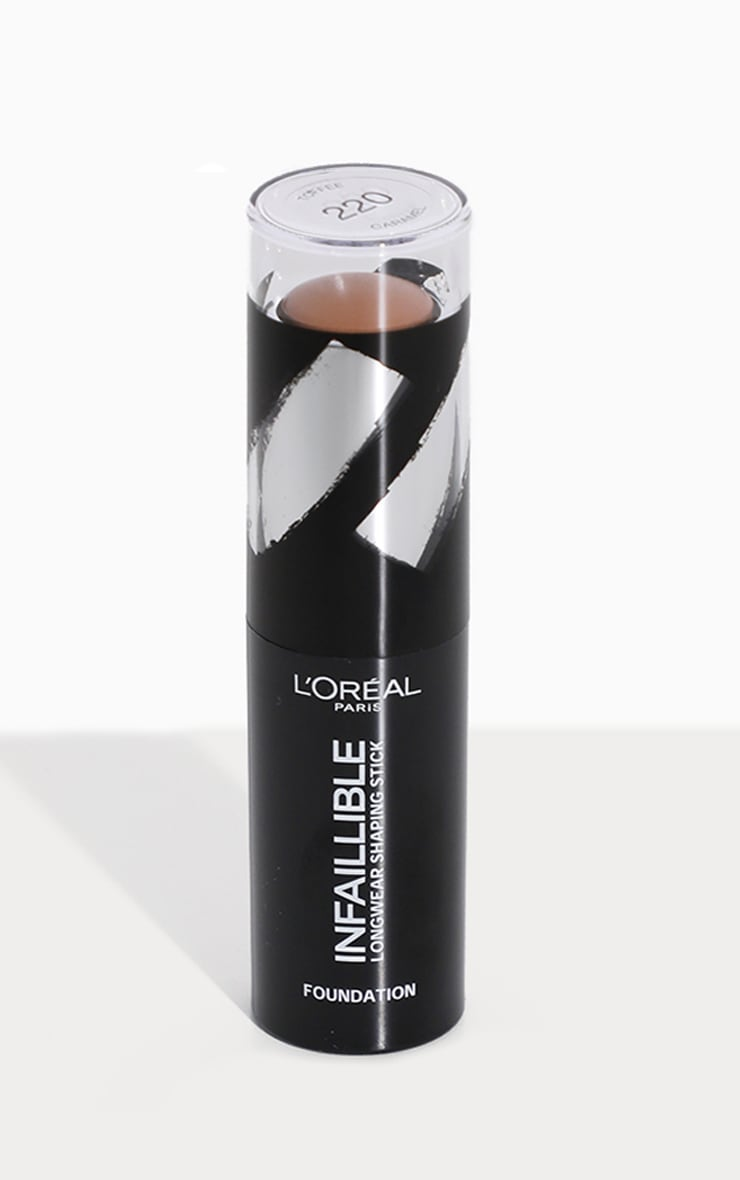 L'Oréal Paris Infallible Shaping Stick Foundation 220 Toffee Caramel 2