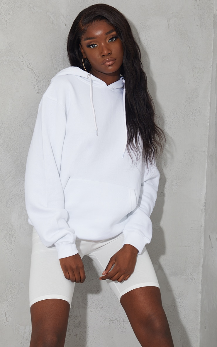 Tall - Hoodie oversize blanc classique 1