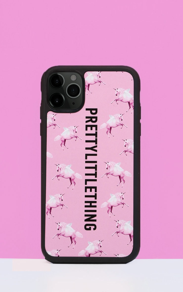 PRETTYLITTLETHING Unicorn Pink iPhone 11 Pro Max Case 1