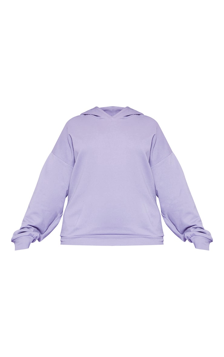 RECYCLED Plus Violet Oversized Hoodie 3