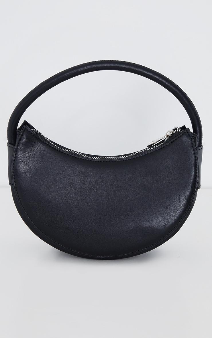 Black Crescent Shoulder Bag 1