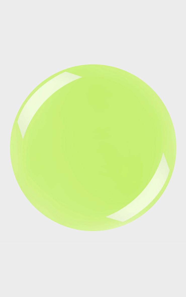 Barry M Matte Hi Vis Nail Paint Lime Spark 2