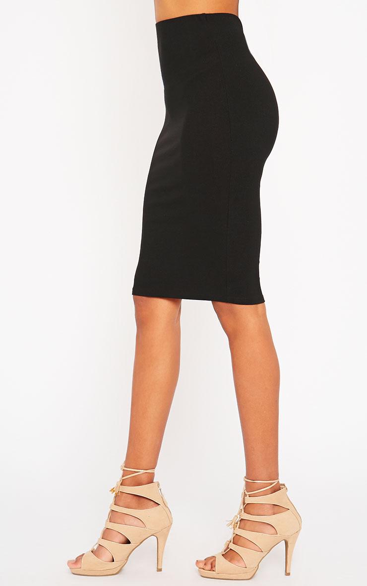 Klarisa Black Midi Skirt 3