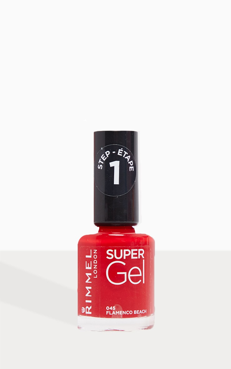 Rimmel Super Gel Nail Polish Flamenco Beach 2