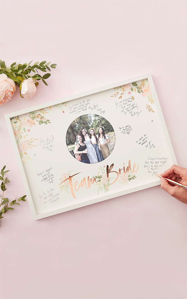 Ginger Ray Frame Guest Book 1