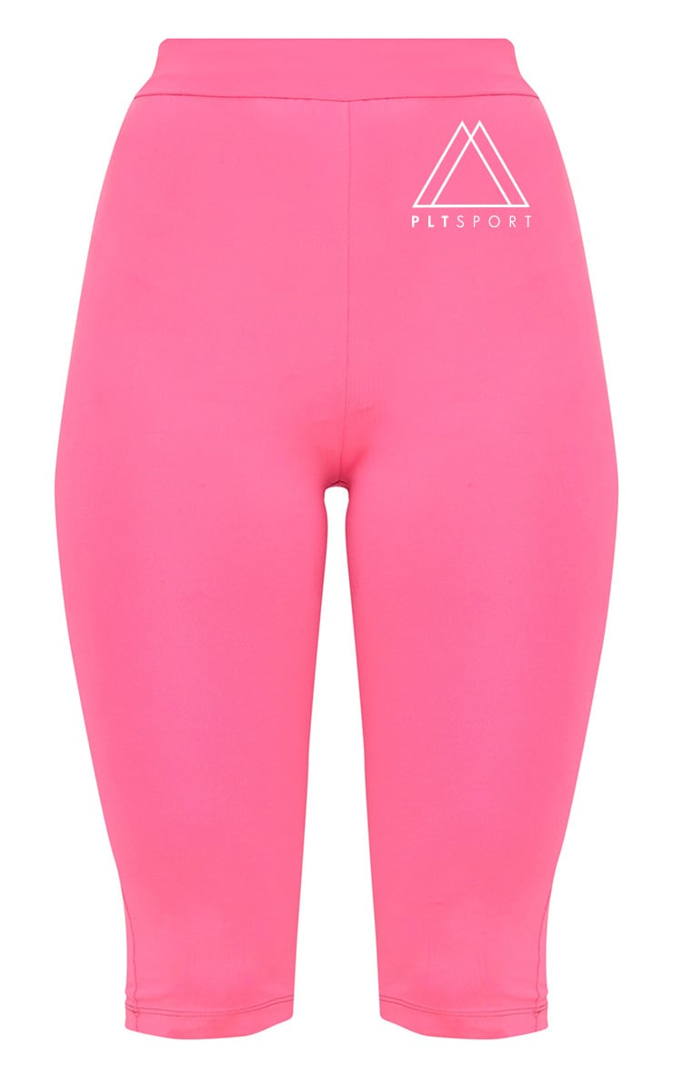 Pink 3/4 Sports Leggings  4