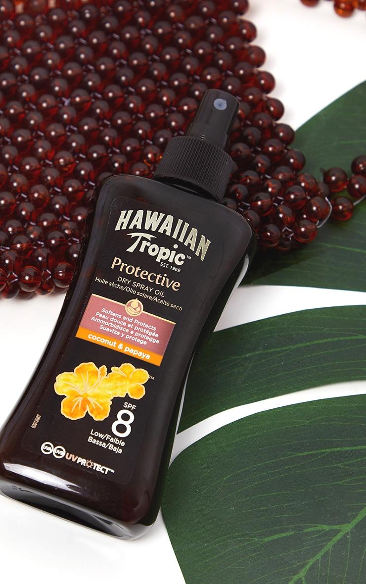 Hawaiian Tropic Protective Dry Oil SPF 8 2