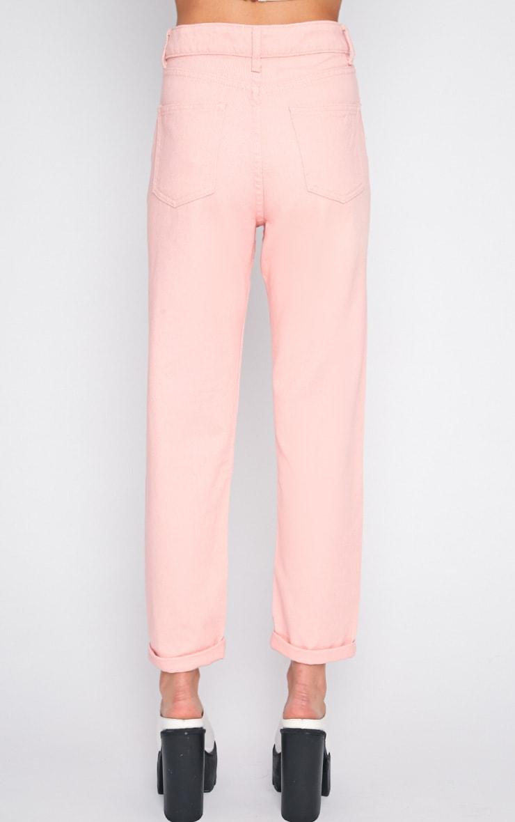 Charlie Pink Mom Jeans 2