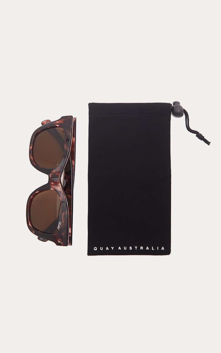 QUAY AUSTRALIA Brown After Hours Oversized Sunglasses 4