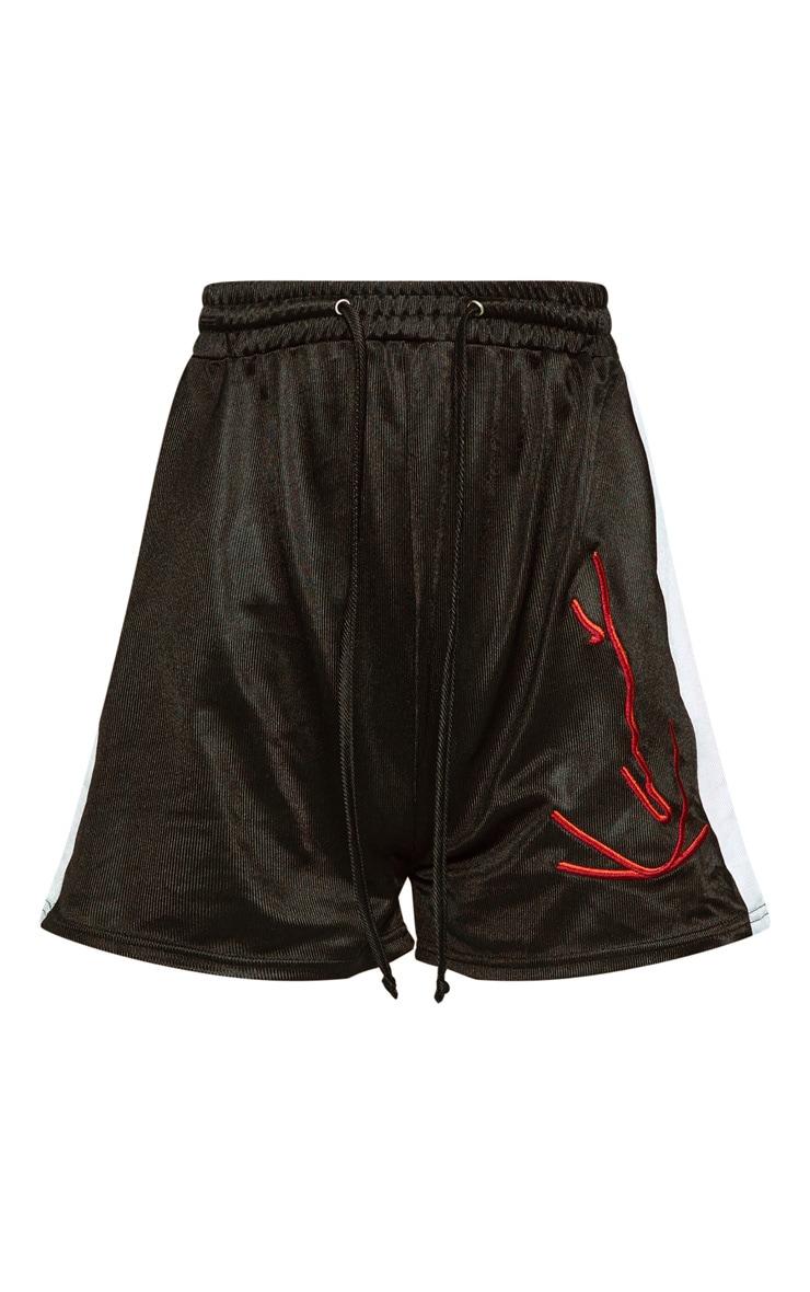 KARL KANI Black Boxer Shorts  4