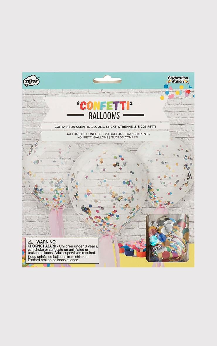 Confetti Balloons 1
