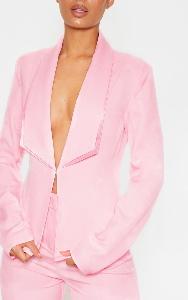 Avani Pink Suit Jacket 5