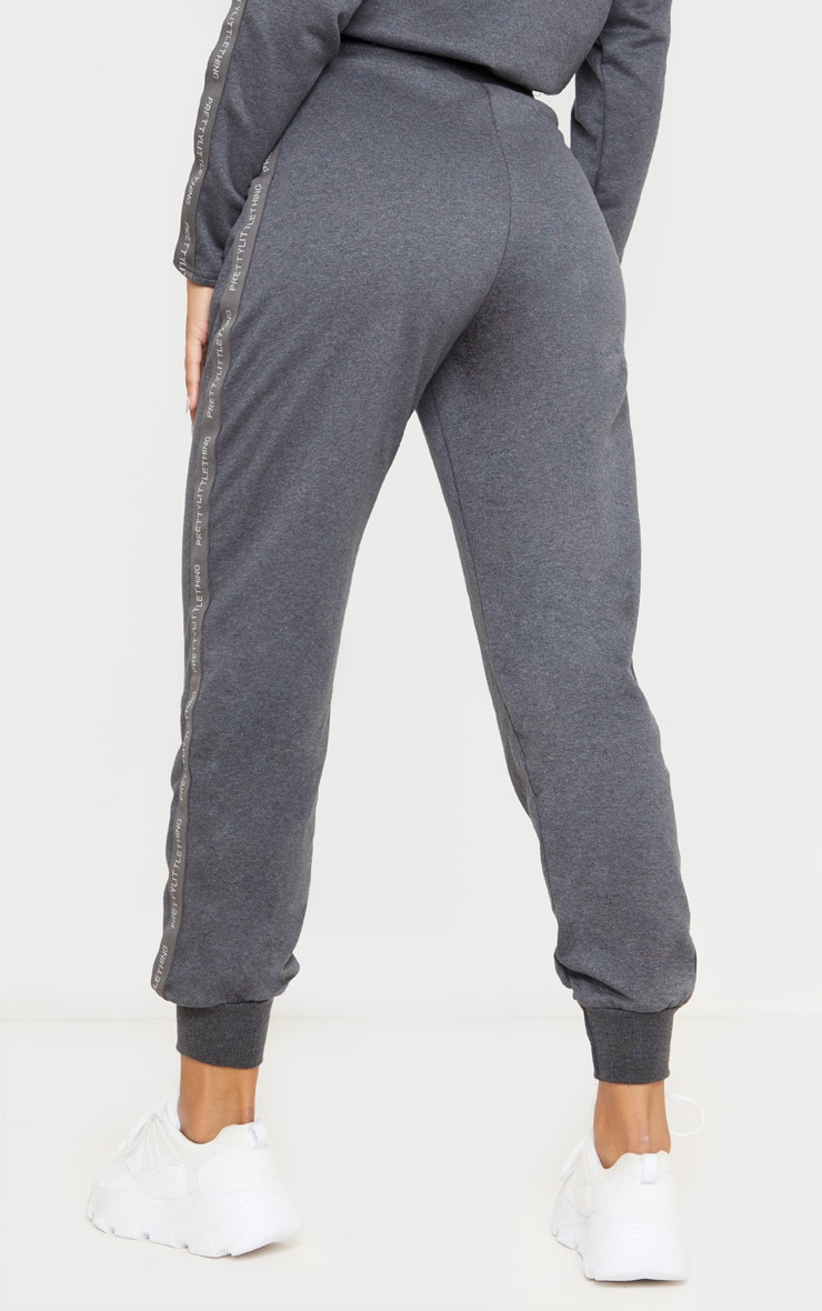PRETTYLITTLETHING Charcoal Basic Jogger 4
