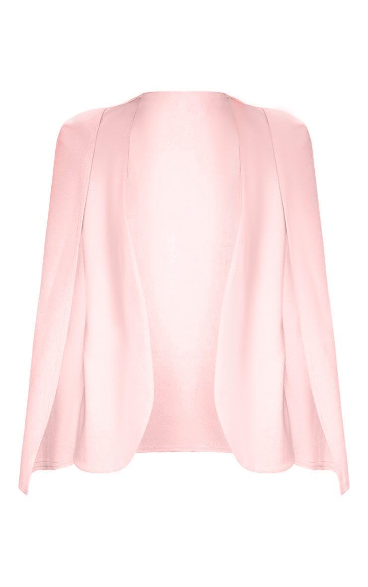 Pink Cape Blazer 3