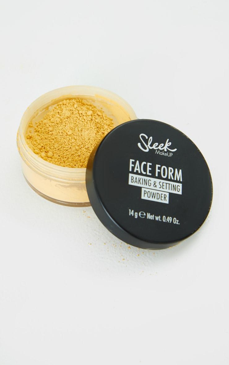 Sleek MakeUP Face Form Baking & Setting Powder Banana 1