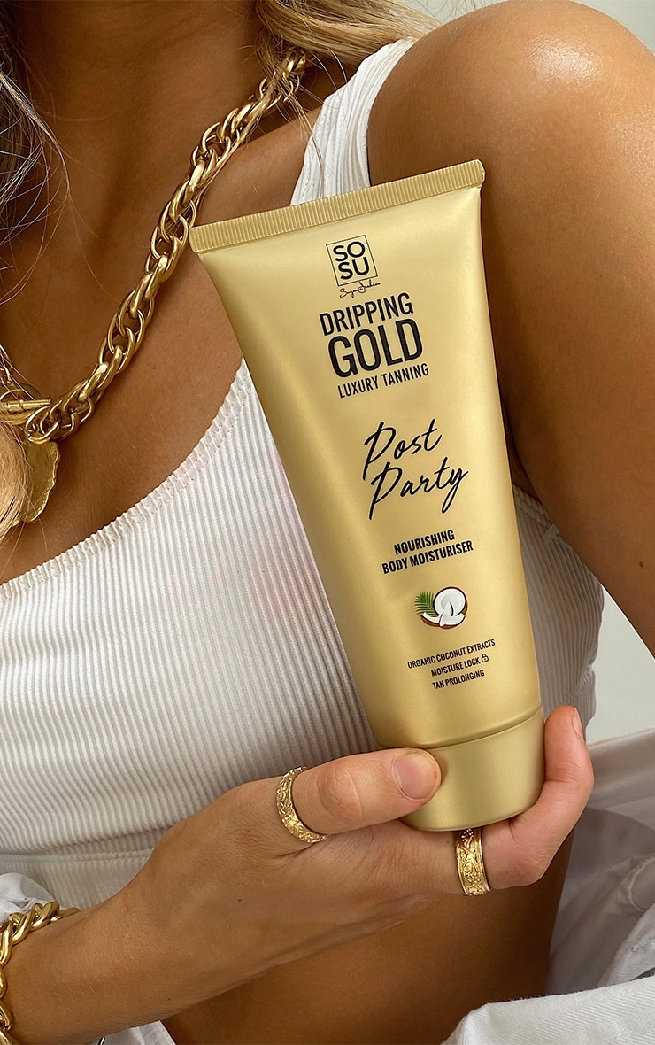 SOSUBYSJ Dripping Gold Post-Party Nourishing Body Moisturiser 5