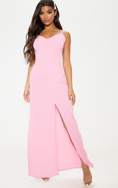 Basic Maxi Jurk.Maxi Dresses Long Dresses Floor Length Dress Prettylittlething Ie