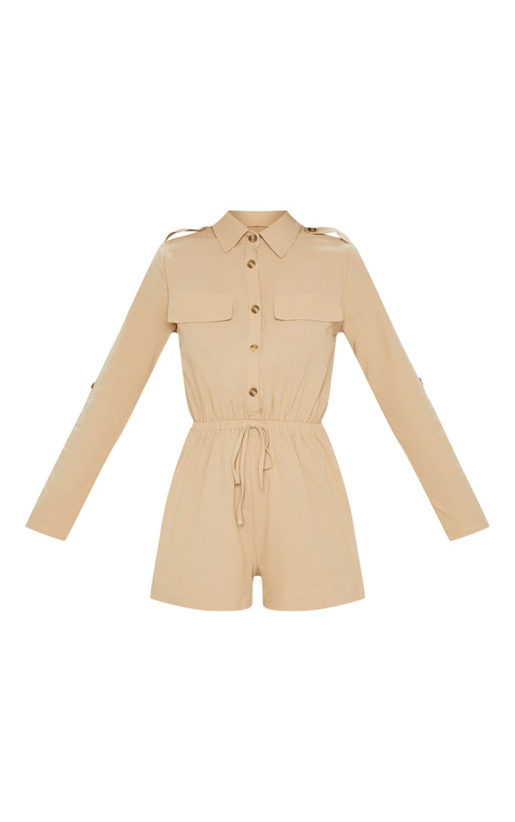 Stone Cargo Pocket Playsuit 3