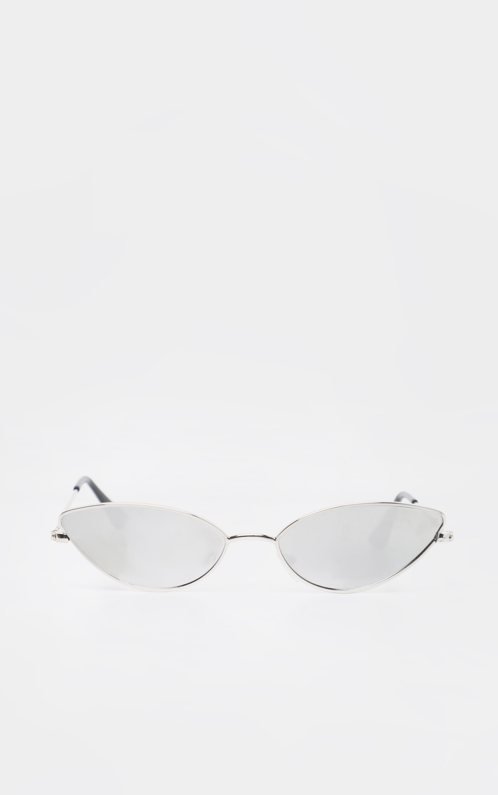 Silver Revo Metal Almond Shape Sunglasses 2