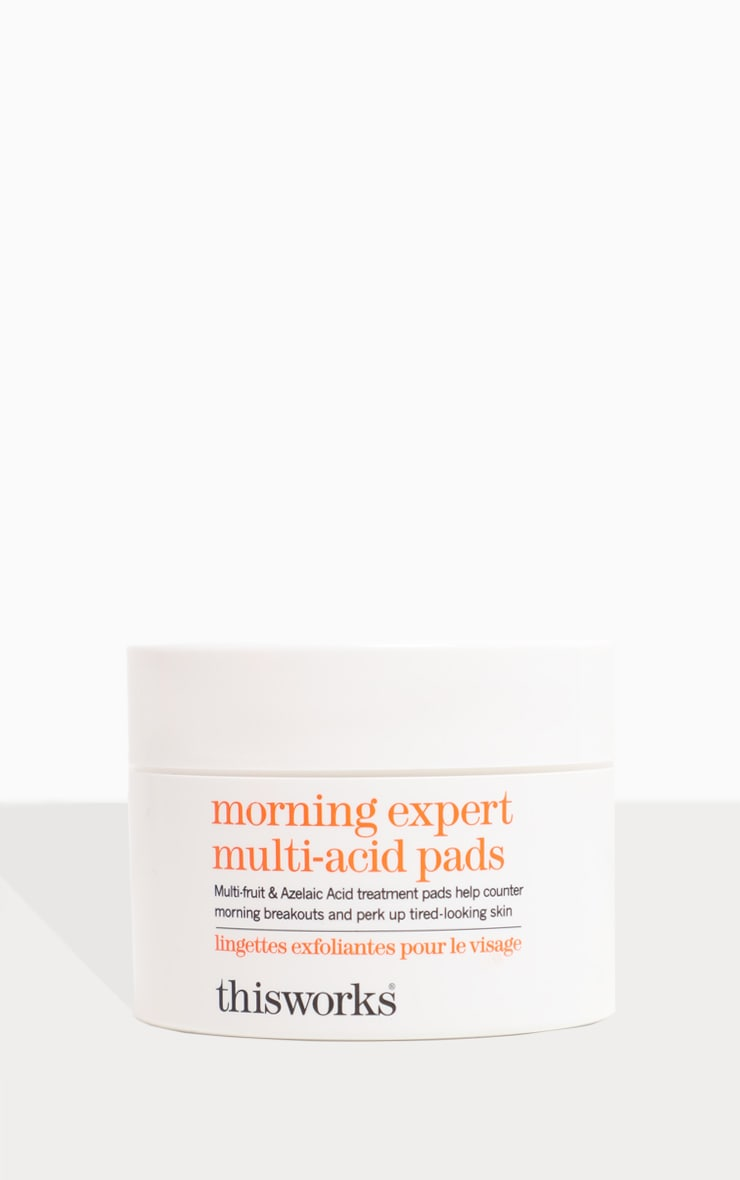 This Works Morning Expert Multi-Acid Daily Exfoliating Pads 60Pcs 5