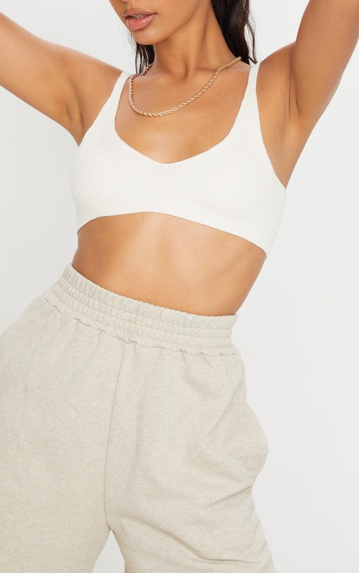 Oatmeal Sweat Pocket Shorts 5