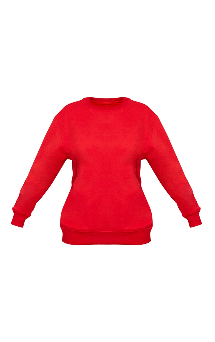 Red Ultimate Oversized Sweatshirt 5