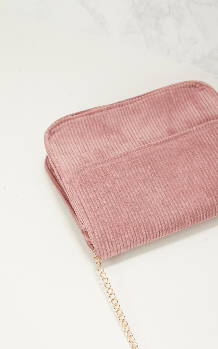 Rose Basic Corduroy Shoulder Bag 6