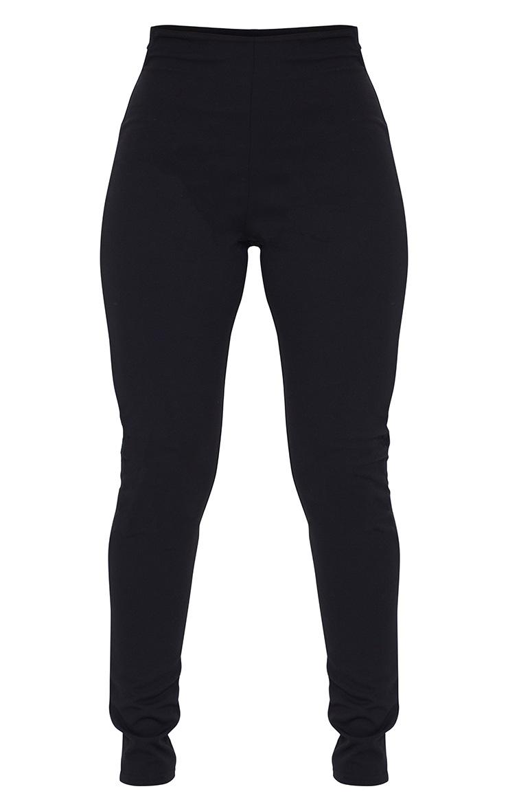 Black T Bar Skinny Pants 5