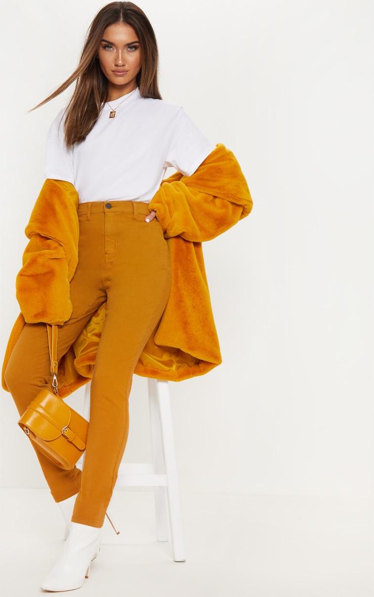 Mustard Disco Fit Skinny Jean 1