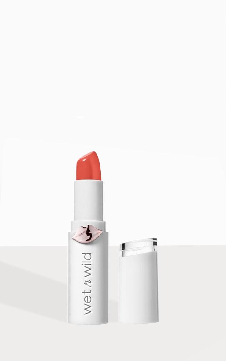 Wet N Wild Megalast Shine Lipstick Bellini Overflow 1