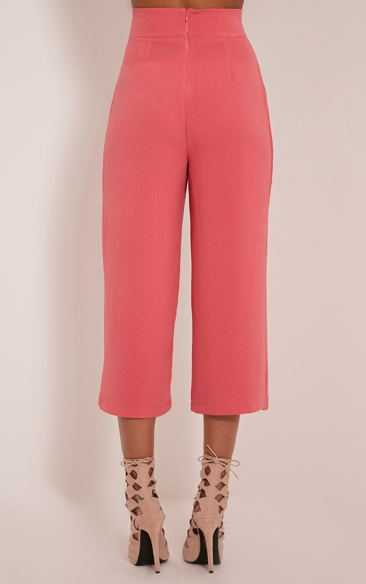 Tazmin Coral High Waisted Culottes 5