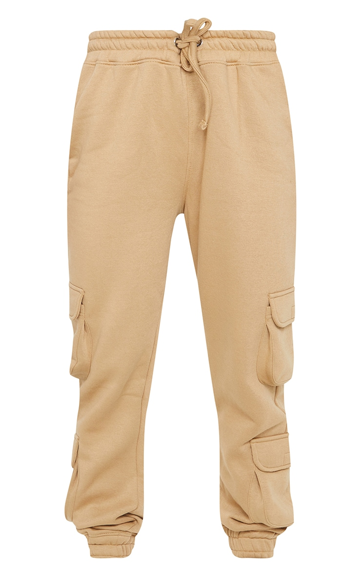 Camel Pocket Detail Joggers 5