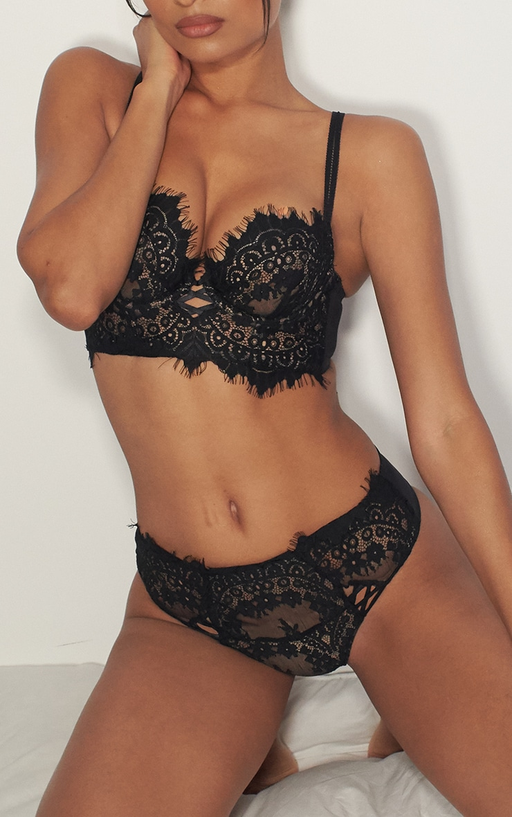black ann summer high waist lace brazilian