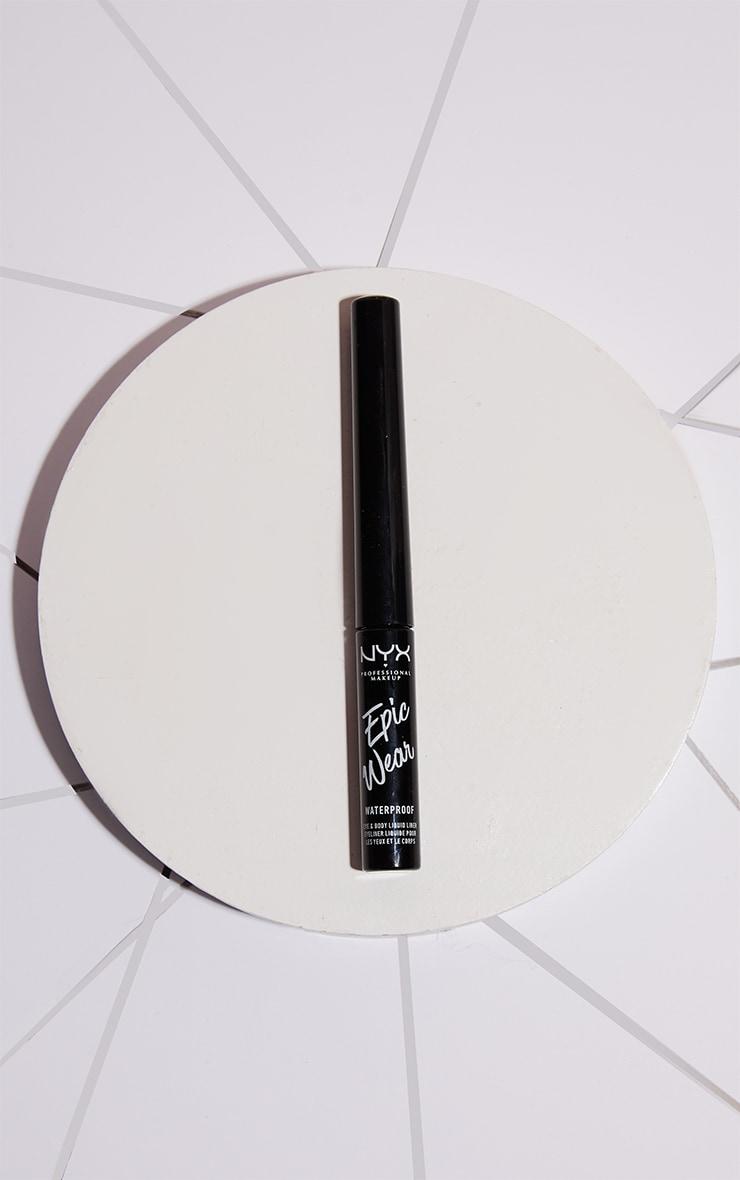 NYX PMU Epic Wear Metallic Liquid Liner Silver Metal 1