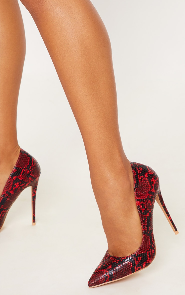 Red Snake High Court Shoes  2
