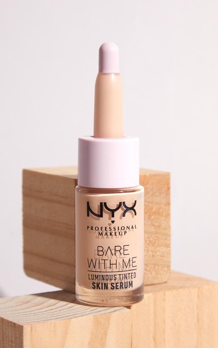 NYX PMU Bare With Me Luminous Tinted Skin Serum Light 1