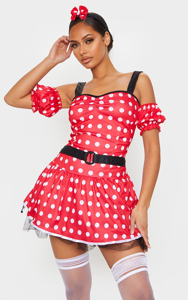 Premuim Sexy Miss Mouse Costume 1
