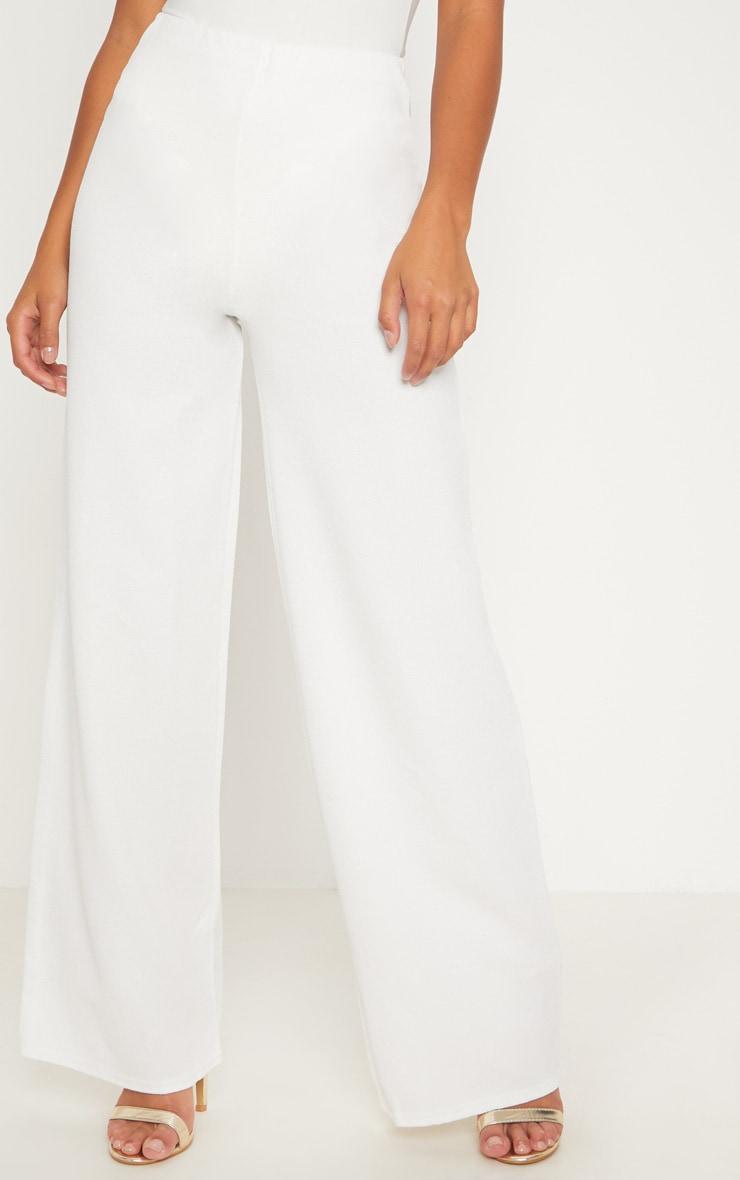 Petite pantalon ample blanc 2