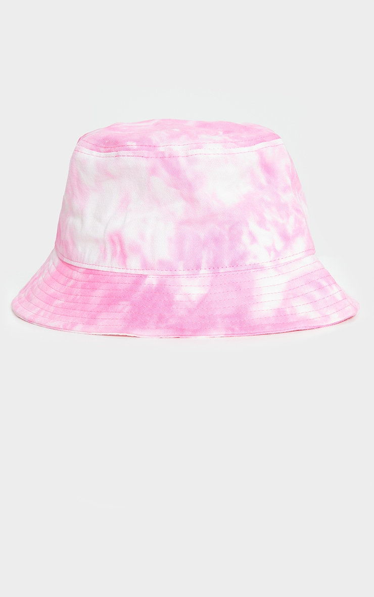 Pink Tie Dye Bucket Hat 2