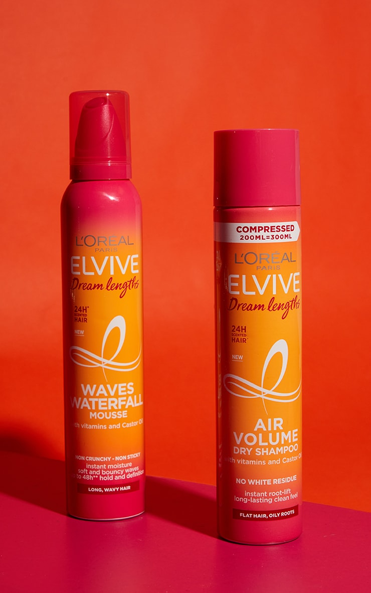 L'Oreal Elvive Dream Lengths Nourishing Waves Waterfall Mousse Long Curly Hair 200ml 3