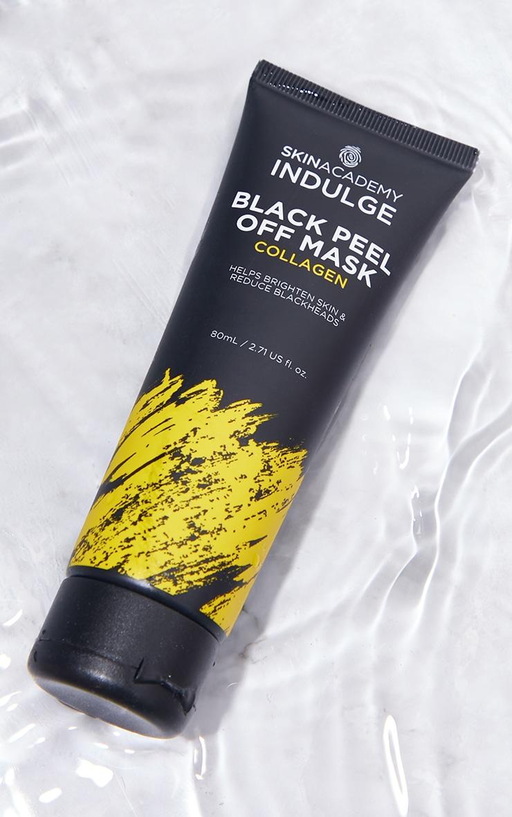 Skin Academy Indulge Black Peel Off Mask Collagen 1