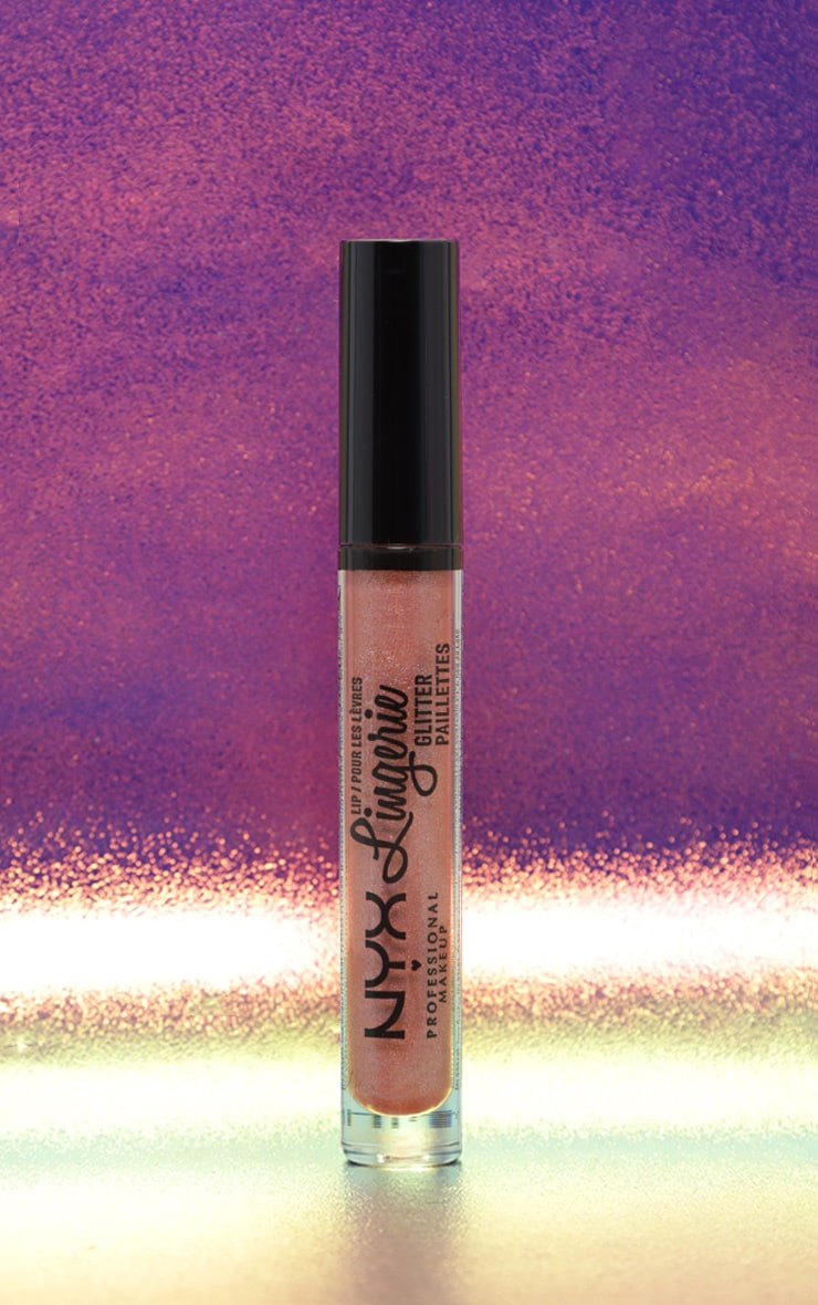 NYX Professional Makeup Lip Lingerie Glitter Honeymoon 2