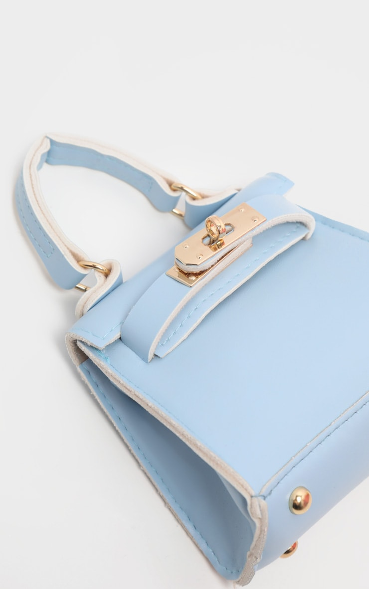 Powder Blue Micro Mini Bag 3