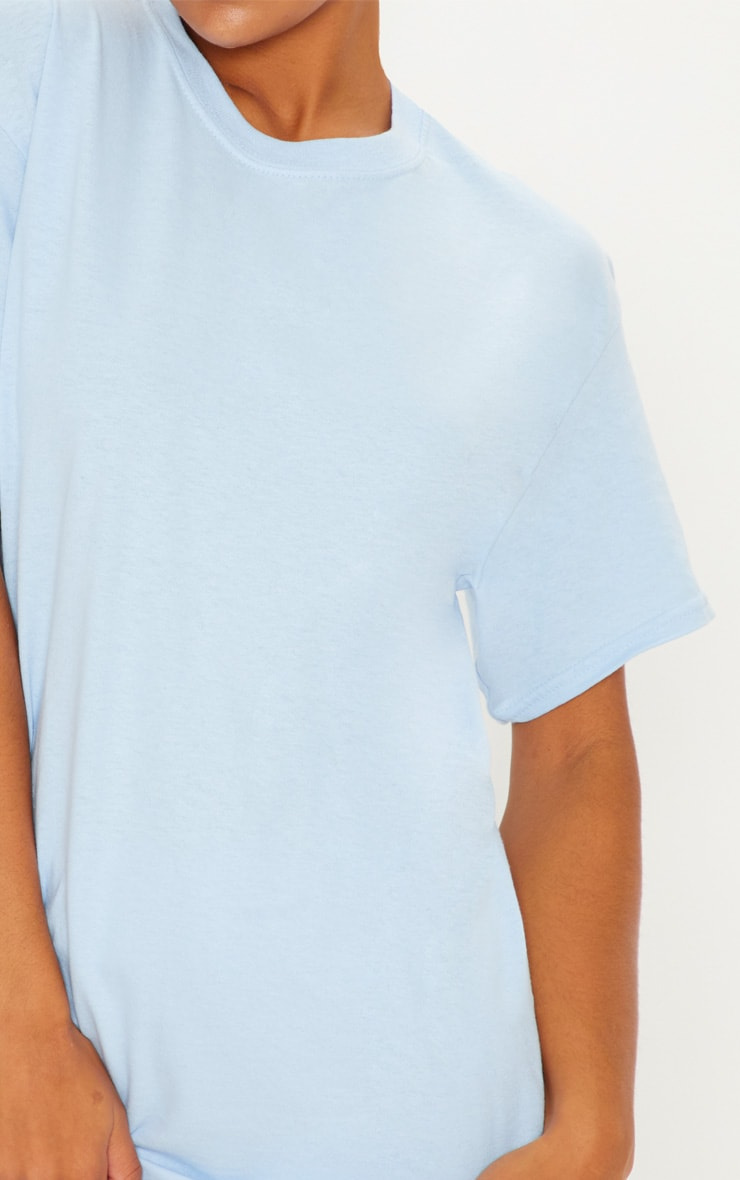 Light Blue Boyfriend T Shirt 5