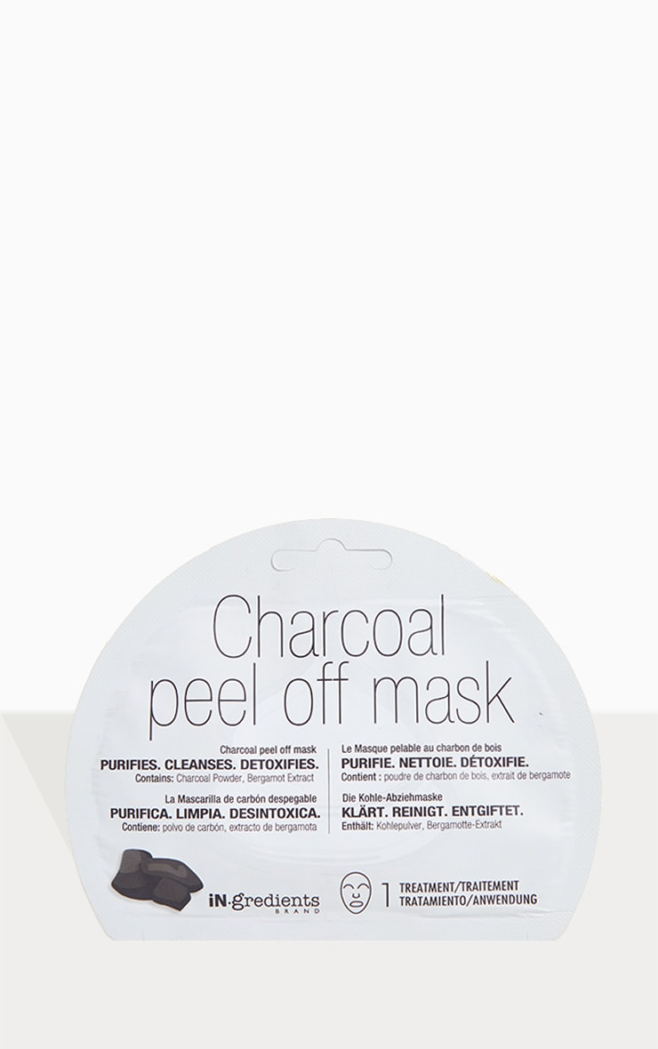 iN.gredients Charcoal Peel Off Mask 1