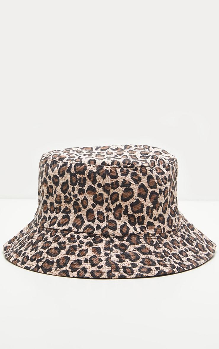 Leopard Print Bucket Hat 2