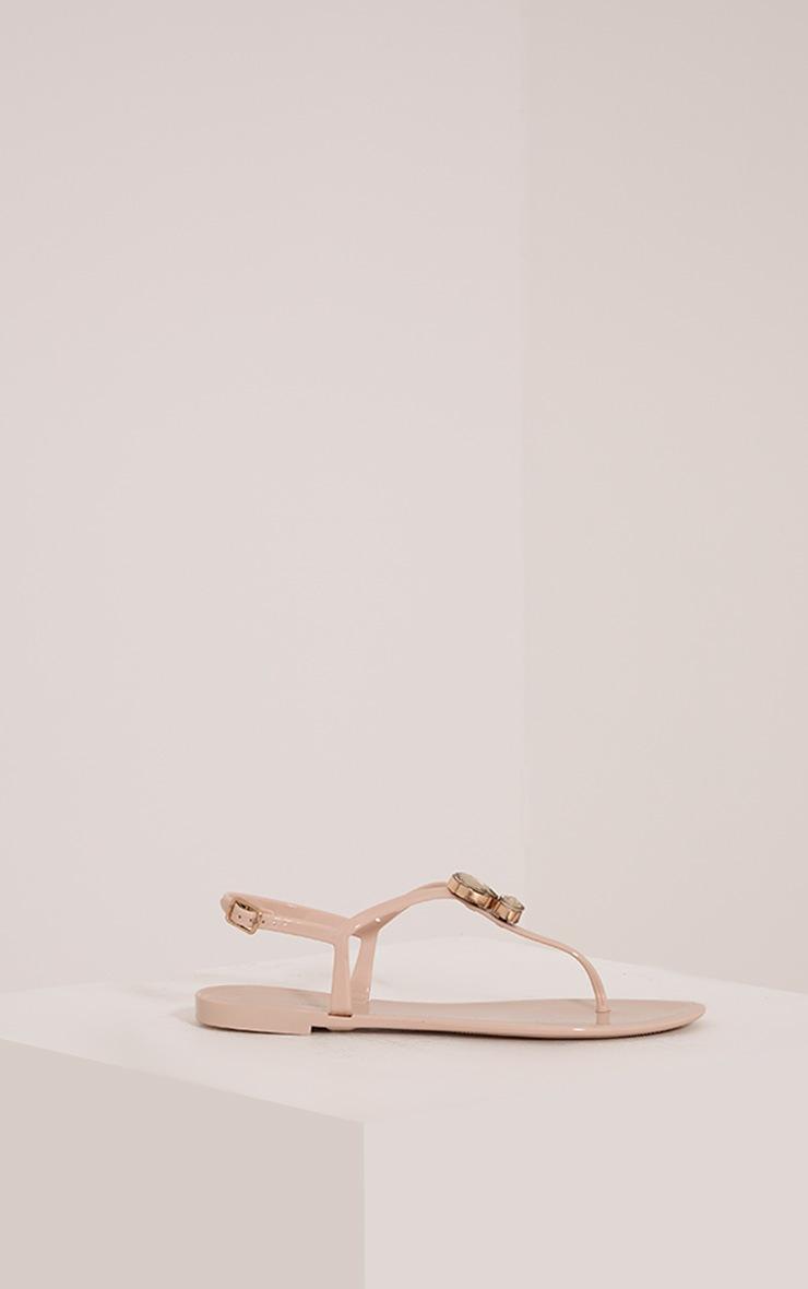 Cena Nude Thong Sandal 3
