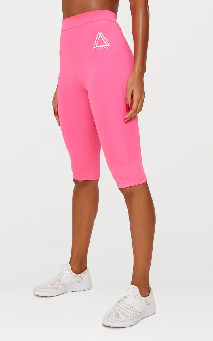 Pink 3/4 Sports Leggings  3