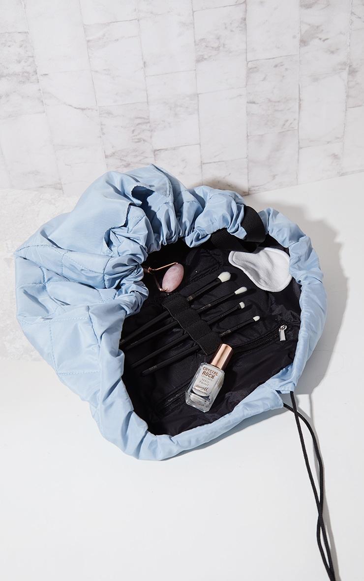 The Flat Lay Co Makeup Bag Haze Blue 3