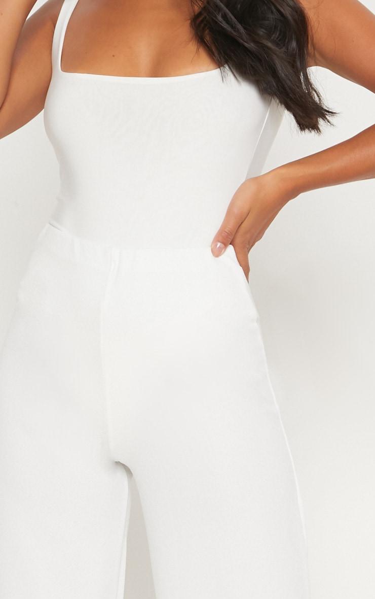 Petite pantalon ample blanc 5